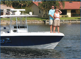 In his free time, Jason enjoys cruising on the Intercoastal with his wife, Linda, to go fishing or just relax.